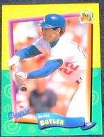 94 UD Fun Pk Brett Butler #72 Dodgers