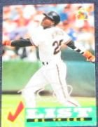 94 UD Fun Pk Checklist Barry Bonds #237