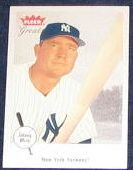 2002 Fleer Greats of the Game Johnny Mize #12 Yankees
