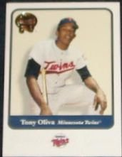 2001 Fleer Greats of the Game Tony Oliva #112 Twins