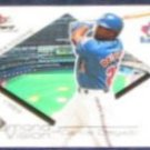 2001 Fleer Focus Diamond Vision Carlos Delgado #8DV