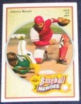 92 UD Baseball Heroes Johnny Bench #39