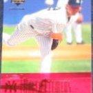 2001 UD Evolution Roger Clemens #39 Yankees