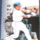 2001 UD Reserve New Order Rafael Furcal #NO9 Braves