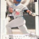 2000 UD Hitters Club Gary Sheffield #18 Dodgers