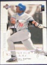 2000 UD Hitters Club Gary Sheffield #18 Dodgers