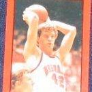 85-86 Nebraska Basketball Pocket Schedule Dave Hoppen