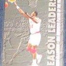 1993-94 UD Season Leaders Hakeem Olajuwon #176 Rockets