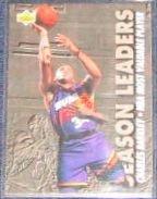 1993-94 UD Season Leaders Charles Barkley #174 Suns