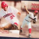 00 Nebraska Baseball Pocket Sked. Komine/Cowan