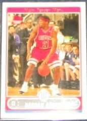 2006-07 Topps Basketball Rookie Hassan Adams #235 Nets