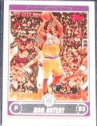 2006-07 Topps Basketball Ron Artest #187 Kings