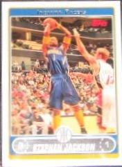 2006-07 Topps Basketball Stephen Jackson #171 Pacers