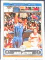 2006-07 Topps Basketball Jared Jeffries #206 Wizards