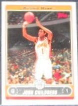 2006-07 Topps Basketball Josh Childress #105 Hawks