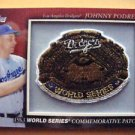 Johnny Podres 1963 World Series Commemorative Patch
