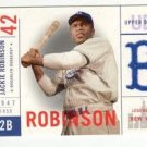 Jackie Robinson Legends Of New York Cloth Card