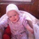 hand crochet hat for baby girl