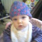Crochet hat for baby girl