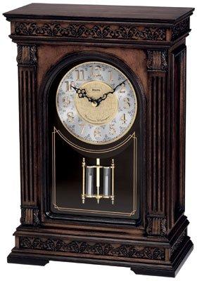 Bulova B1928 Versailles Mantel Clock with Chime
