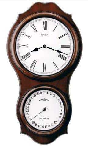 Bulova C3386 Doncaster Wall Clock