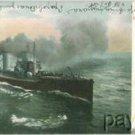 Vintage Litho Postcard German Torpedo Boat 1903