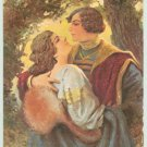 Artist SOLOMKO Postcard Young Couple Love