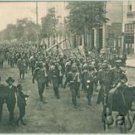 WW I Postcard Bulgaria 6th Regiment departing for Front
