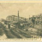 WW I Postcard Destroyed Bridge near Stalac Serbia