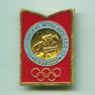 EQUESTRIAN pin Horse USSR Moscow'80 Olympic Games -11