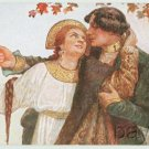 Solomko Postcard Young Couple Yours forever c.1910