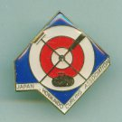 Sport pin Japan Hokkaido Curling Association