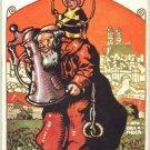 Obermeier Postcard 1909 Monk Beer Mug Stein RARE