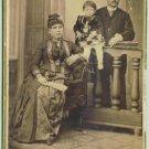 CAB Photo Bulgaria Family Nice modern Lady's Dress 1897