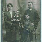 CAB Photo Bulgaria Family Portrait children 1915
