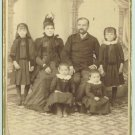 CAB Photo Bulgaria Family Four Children modern clothes c1890