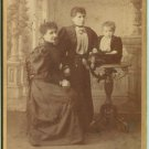 CAB Photo Bulgaria Family Women e Generations c1900