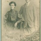 CAB Photo Bulgaria Family Fashionable couple Modern Clothes c1900