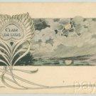 ART NOUVEAU LELEE Postcard CLAIR DE LUNE