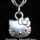 Hello Kitty Pendant with Silver colour Chain