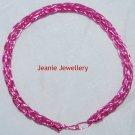 Pink Viking knitting Bracelet