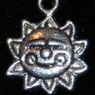 Sun Tibetan Silver Charm
