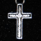 Small Cross Tibetan Silver Charm