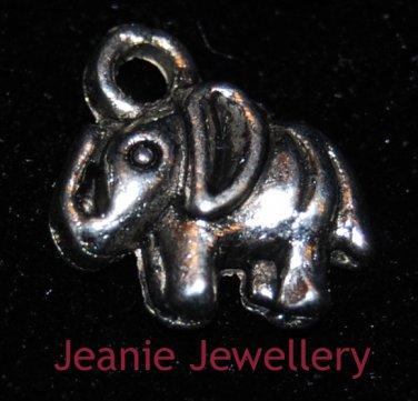 Elephant Tibetan Silver Charm