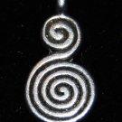 Swirl Tibetan Silver Charm