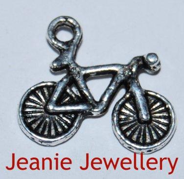Bike Tibetan Silver Charm