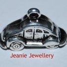 Beetle Tibetan Silver Charm