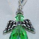Light Green Angel Clip on Charm