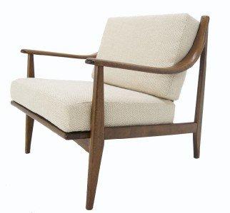 Mid Century Danish Modern Lounge Chair New Upholstery.