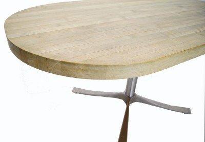 "Heavy 2"" Thick Modern Design Butcher Block Modernist Dining Table"